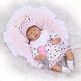 iCradle Muñecas 16Inch 43Cm Realista Reborn Baby Dolls Simulación Silicona...
