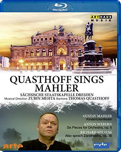 Quasthoff sings Mahler | Semperoper Dresden 2010 [Blu-ray]