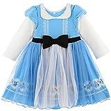 Catherine Cottage 仮装 なりきり プリンセス ワンピース ハロウィン 子供ドレス DH001 120cm ブルー[BLU] TAK