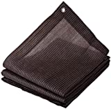 Toldo Vela de Sombra Sombra Paño Sunscreen Fabric Shade Netting Greenhouse Shading Net 95% Shading Rate Used For Greenhouse Garden Flower Plant | UV Resistant Fabric Mesh with Grommets Sunblock Shade