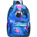 Unisex Child Galaxy Bookbag Billie-Eilish Eyes Backpack Bag for Boys Girls Teens