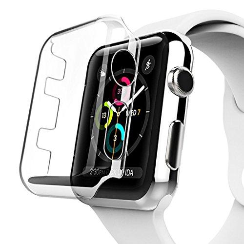 SmartProtectors! Hardcase Cover Schutzhülle für Frontseite / für Apple Watch 3 - 42mm Uhr