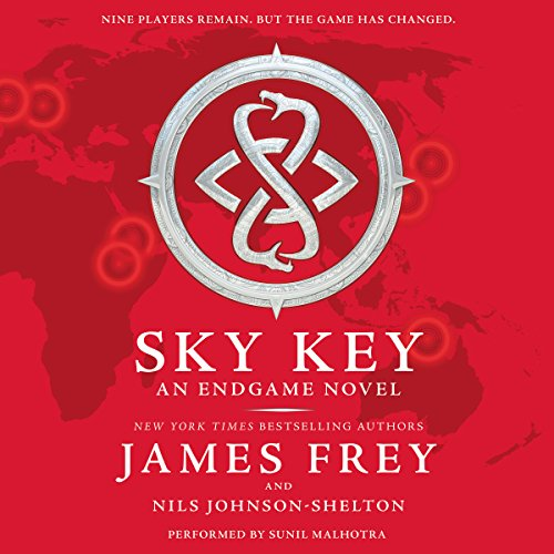 Endgame: Sky Key audiobook cover art