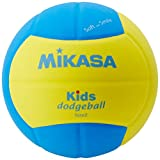 ミカサ(MIKASA) スマイルドッジボール 2号 160g 黄/青 SD20-YBL 推奨内圧0.10~0.15(kgf/㎠)