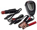 Unitec Profipower 76781 - Tester Digitale per Controllo Batteria, 12V e 24V