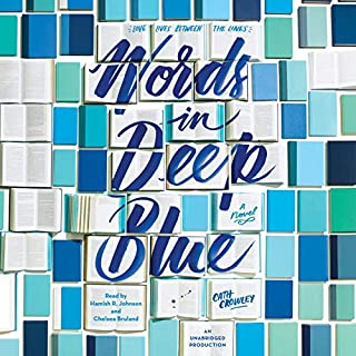 Words in Deep Blue audiobook cover art