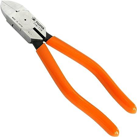 フジ矢 電工VAニッパ(ストレート刃) 175mm VA線切断に最適な刃部鏡面仕上げ 77A-175