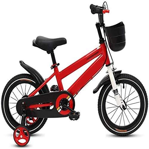 HCMNME Bicicleta Duradera, Bicicletas Niños Niñas Bicicleta, carbón del Marco de Acero, los niños de los niños del Estilo Libre de la Bici, Bici del Deporte, la Ronda de Entrenamiento, Regalo