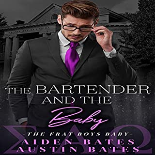 The Bartender and the Babies: A Friends to Lovers Romance audiobook cover art