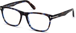 Tom Ford FT 5662-B BLUE BLOCK Blonde Havana 56/18/145 unisex Eyewear Frame