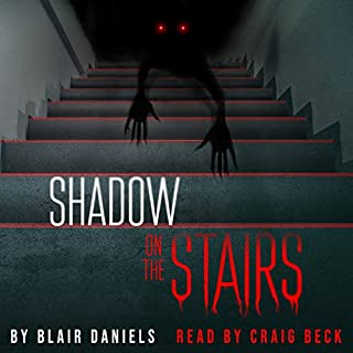 Shadow on the Stairs audiobook cover art