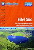 Hikeline Wanderführer Eifel Süd: Die schönsten Wanderungen zwischen Koblenz und Trier, 1 : 50.000, 664 km, wasserfest, GPS-Tracks Download