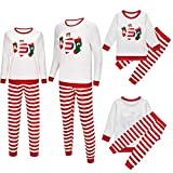 Christmas Family Matching Pajamas Set Santa Claus Sleepwear Classic Plaid Xmas Outfits for Adults,Kids,Newborn Baby...