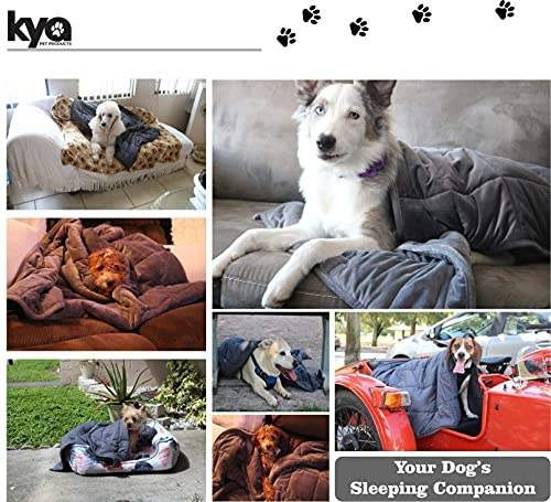 Product Image 3: Kya Pet Products Weighted Pet Blanket