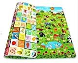 Luxafare Waterproof Double Sided Baby Play Mat Child Activity Foam Floor Soft Kid