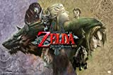 Pyramid America The Legend of Zelda Twilight Princess Video Game Gaming Cool Wall Decor Art Print Poster 18x12
