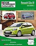 E.T.A.I - Revue Technique Automobile B777 - RENAULT CLIO III PHASE 2 - 2009 à 2014 - Diesel