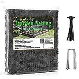 Vogelnetz 10 × 4M Baum netz Vogelschutznetz Hühnernetz Wiederverwendbares extra starkes...