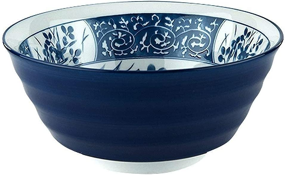 Daily bargain sale XKOEY Limited time for free shipping Tableware Ceramic Bowl Breakfast Noodle Bow Folk Culture