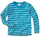 wellyou | Baby-Strampler | Kinder-Strampler | Marine-blau weiß gestreift | Strampelanzug Geringelt | für Jungen und Mädchen | Feinripp aus 100% Baumwolle | Größe 80-86