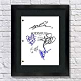 Supernatural TV Show Cast Autographed Signed Reprint 8.5x11 Script UNFRAMED - Jensen Ackles Jared Padalecki Misha Collins Jeffrey Dean Morgan