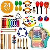 RAIN QUEEN 24Pcs Instrument de M...