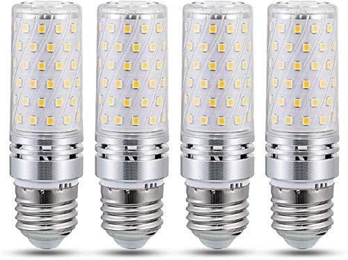 E27 LED 16W Warmweiß 3000K, Nicht Dimmbar, Ersetzt E27 100W 120W, 1600lm, 220V, Stabform Cornlampe, Maiskolben LED E27 für Deckenlampe, 4er-Pack