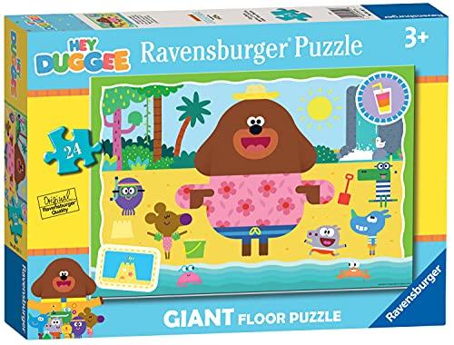 Ravensburger Hey Duggee - Puzzle gigante da pavimento, 24 pezzi, per bambini dai 3 anni in su