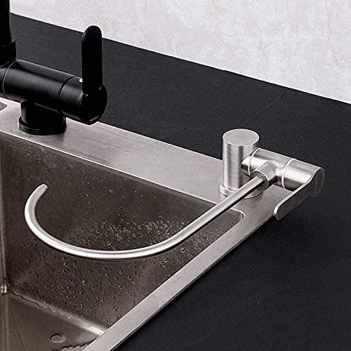 Grifo de cocina Grifo de agua potable de cocina de acero inoxidable Grifo purificador de agua plegable Grifo de filtro de agua de ósmosis inversa giratorio de 360 grados @ A1-A2