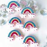 XIAMU Rainbow Non-Woven Pasta Tridimensional Refrigerador Estuche para teléfono móvil con Aire Acondicionado Calcomanía Decorativa 1 Hoja