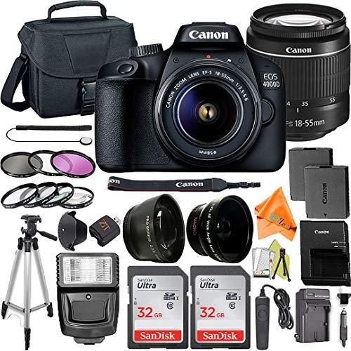 Canon EOS 4000D / Rebel T100 DSLR C…