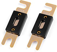 LEIGESAUDIO 30Amp ANL Fuses Gold Plated Fuse 2 Pack (30Amp)