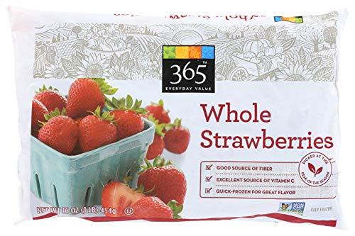 365 Everyday Value, Whole Strawberries, 16 oz, (Frozen)