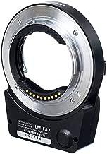JFOTO LM-EA7 Techart 6.0 Auto Focus Lens Adapter Designed for Leica M/Zeiss M/Voigtlander M Mount Lens to Sony E NEX A7RIII A9 A7III A7RII A7II A6500 A6300 Cameras