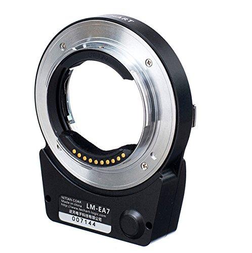 EWOOP LM-EA7 Techart 6.0 Adaptador de lente de enfoque automático diseñado para...