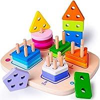 """""""Gioco istruttivo"""" è possibile imparare i numeri, i colori, le forme geometriche e non solo, e i numeri in inglese """"Sicuro"""" Tutte le parti del giocattolo sono di grandi dimensioni ed è quindi impossibile ingoiarne qualcuna. La struttura così come i m..."""