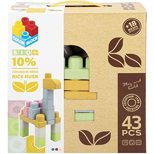 ColorBaby - Juego de construcción 43 piezas, para niños a partir de 18 meses