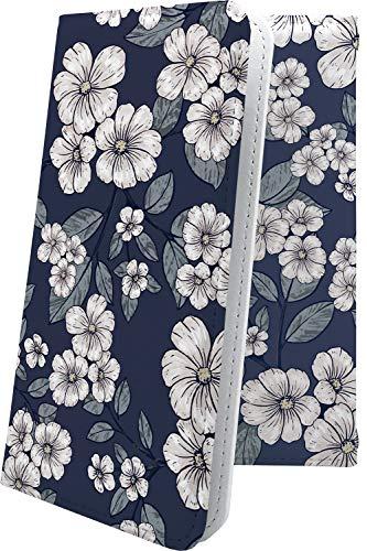 スマートフォンケース・ZenFone5Q ZC600KL・互換 ケース 手帳型 花柄 和 和風 和柄 日本 japan ゼンフォン5q ゼンフォン5 手帳型スマートフォンケース・花 zenfone 5q 5 q フラワー [WPo570535XV]
