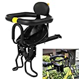 Puselo Child Bike Seat Child Bike Front Mount Seat Child Bike Adjustable Front