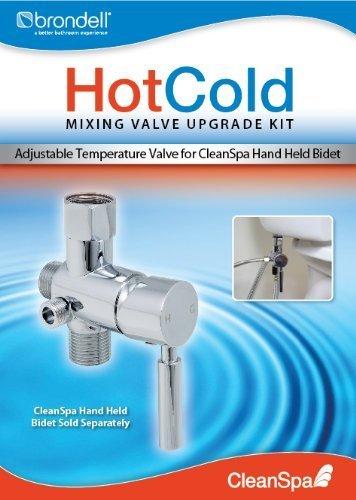 Brondell Bidet-Mischventil, Aufrüstkit für Warm/Kalt-Bidet