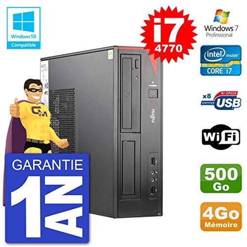 Fujitsu PC Esprimo E520 DT i7-4770 RAM 4 GB Festplatte 500 GB DVD Brenner WLAN W7 (Refurbished)