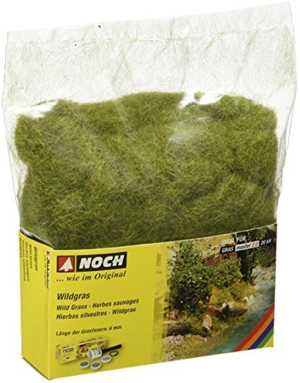 All Scale Static Wild Grass 1.8oz 50g -- Wild Grass Meadow, Long Fibers 1 4 .6cm Long