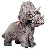 Rubies Disfraz de dinosaurio inflable para adultos de Jurassic World Triceratops, talla única