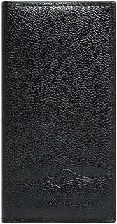 BeniLitchi double wallet long hand bag card package-Kangaroo black