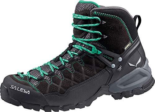 Salewa WS Alp Trainer Mid Gore-TEX Scarponi da trekking e da escursionismo, Black Out Agata, 38 EU