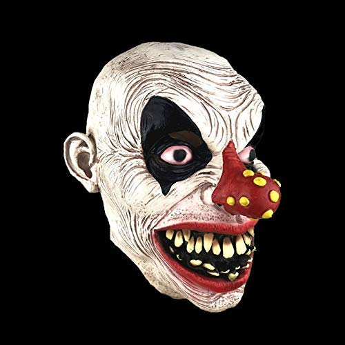 WSJMJ Maskers voor Halloween, latex, grappig, clown-masker