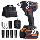 Best Impact Wrenches - Cordless Impact Wrench - GOXAWEE 20V Electric Impact Review