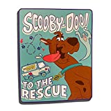 New Family Scooby-Doo Our Pal Scooby Soft Plush Blanket 46' x 60''