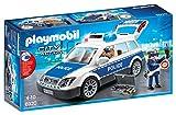 Playmobil Voiture de policiers avec gyrophare et s, 6920, Norme