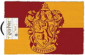 Harry Potter GP85329 Doormat 40 x 60 cm (Gryffondor), Multi-Colour